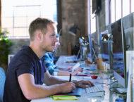 Creative Designer Working at Office